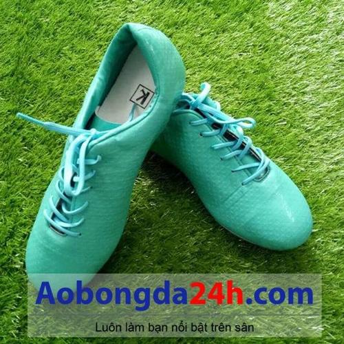 Giầy bóng đá KL xanh ngọc mẫu 06