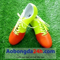 Giày bóng đá KL vàng cam mẫu 05