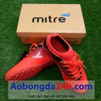Giày đá bóng Mitre 161110 màu đỏ cổ ngắn