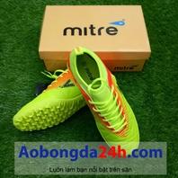 Giày đá bóng Mitre 161110 cổ ngắn màu vàng chanh