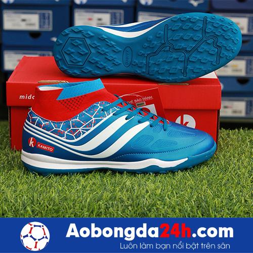 Giày bóng đá Kamito Cobra màu Xanh Dương Cổ cao -3
