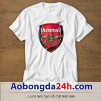 Mẫu áo phông thể thao in hình Arsenal mẫu 01