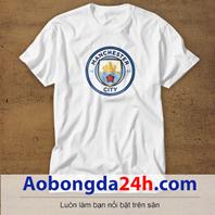 Mẫu áo phông thể thao in hình Manchester City mẫu 12