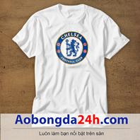 Mẫu áo phông thể thao in hình Chelsea mẫu 13