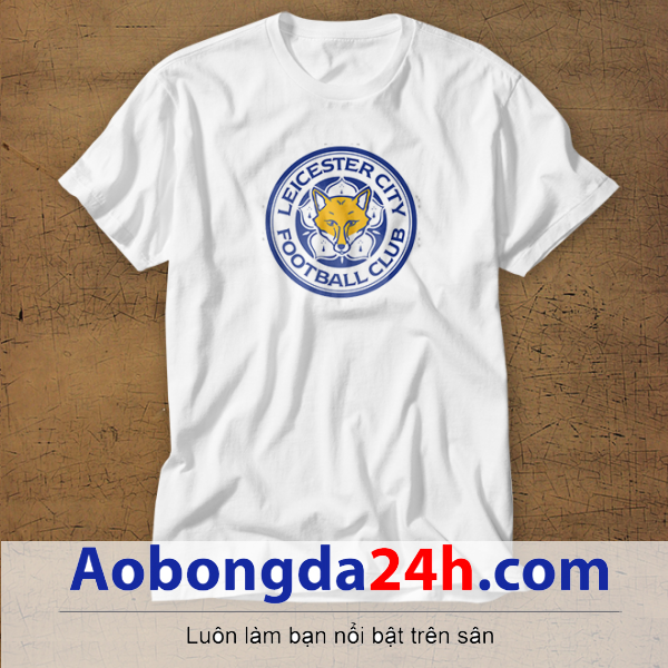 Mẫu áo phông thể thao in hình Leicester City mẫu 17