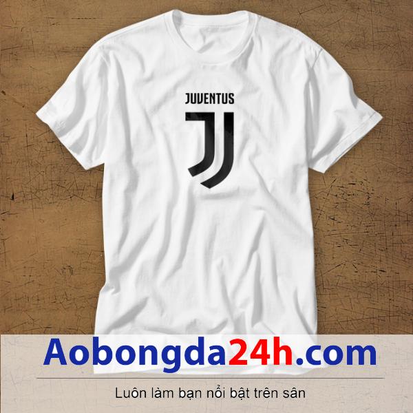 Mẫu áo phông thể thao in hình Juventus mẫu 21