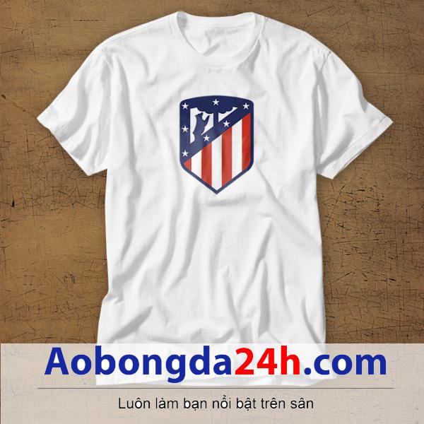 Mẫu áo phông thể thao in hình Atletico mẫu 25