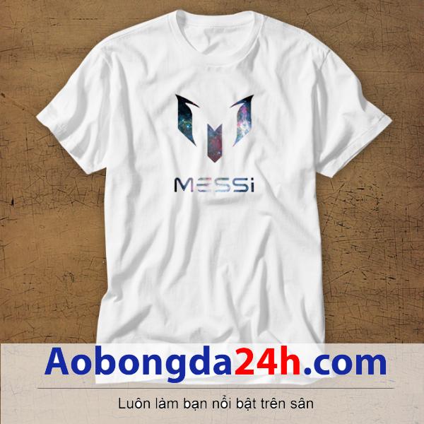 Mẫu áo phông thể thao in hình Messi mẫu 26
