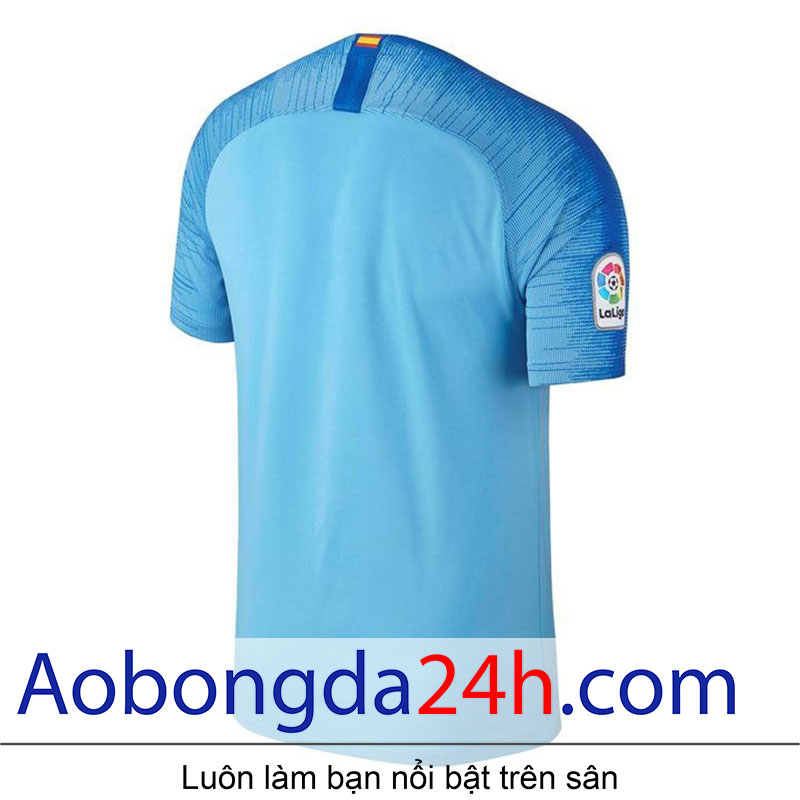 Áo Atletico Madrid 2018-2019 sân khách màu xanh - Mặt sau