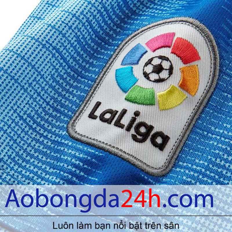 Áo Atletico Madrid 2018-2019 sân khách màu xanh - Logo laliga