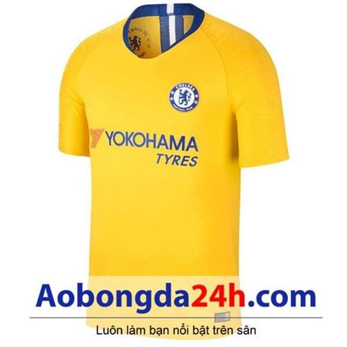 Áo đấu Chelsea 2018-2019 - mẫu áo sân khách màu vàng
