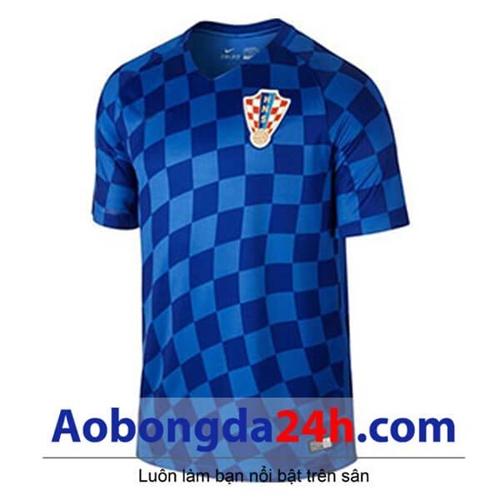 Áo đội tuyển Croatia 2017 - 2018 áo đấu màu xanh