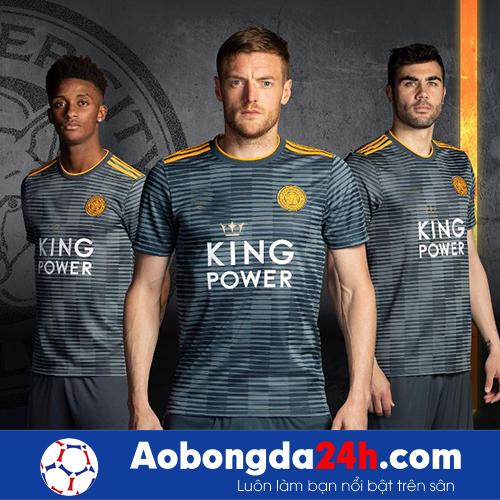 Áo đấu Leicester City 2018-2019 sân khách mùa xám