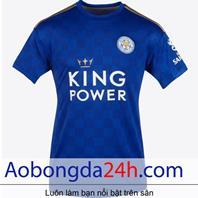 Áo bóng đá Leicester City 2019 - 2020 sân nhà màu xanh