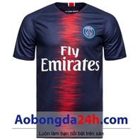 Áo Paris Saint Germain 2018-2019 sân nhà tím than