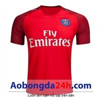 Áo CLB Paris Saint Germain 2016-2017 sân khách đỏ