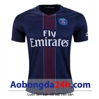 Áo bóng đá Paris Saint Germain 2016-2017 sân nhà xanh