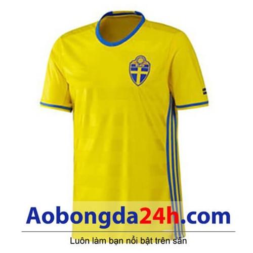 Áo Thụy Điển 2016-2017 sân nhà màu vàng