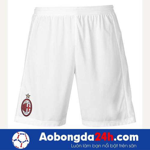 Áo Ac Milan 2018-2019 sân nhà sọc đỏ đen
