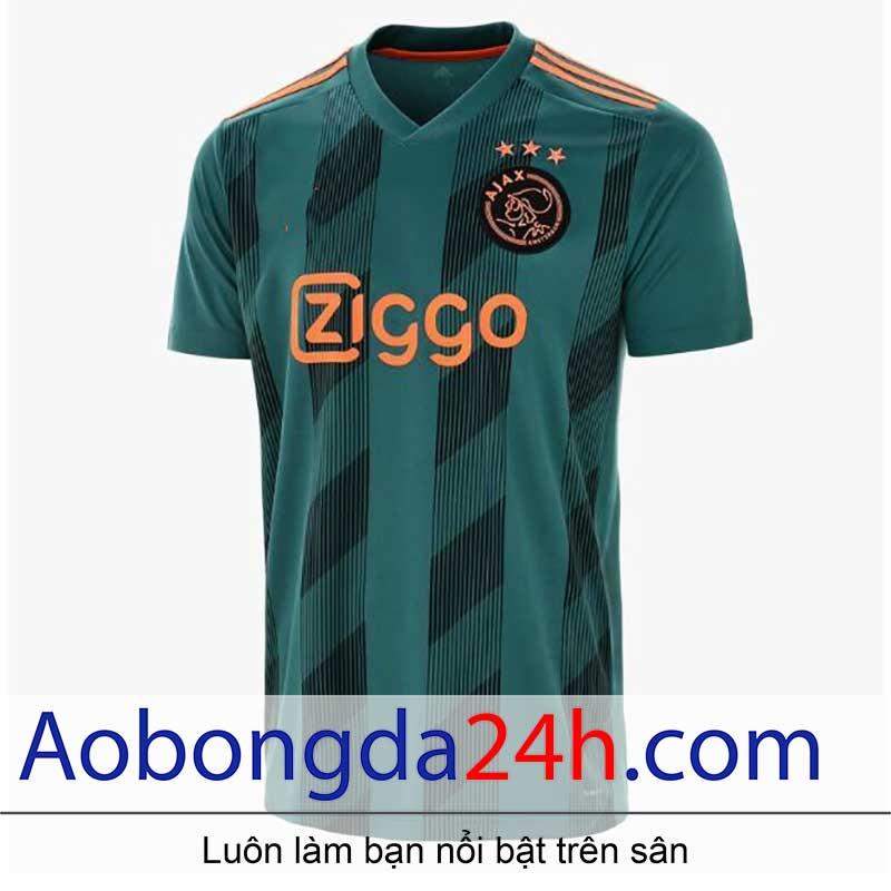 Áo CLB Ajax Amsterdam 2019 - 2020 sân khách màu xanh rêu