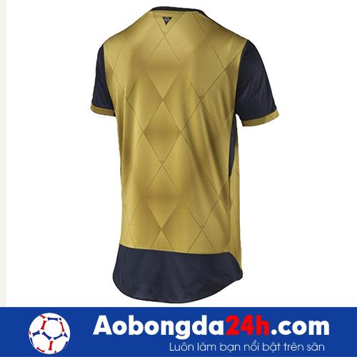 Áo Arsenal 2015-2016 sân khách màu vàng