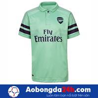 Áo đấu câu lạc bộ Arsenal 2018-2019 mẫu 3 màu xanh ngọc