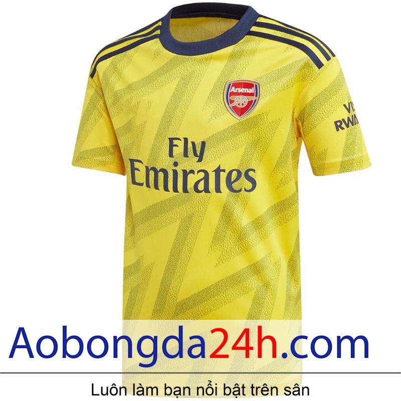 Áo Arsenal 2019 - 2020 sân khách màu vàng