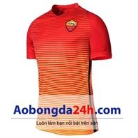 Áo Roma áo tập 2016-2017 mẫu thứ 3 màu cam