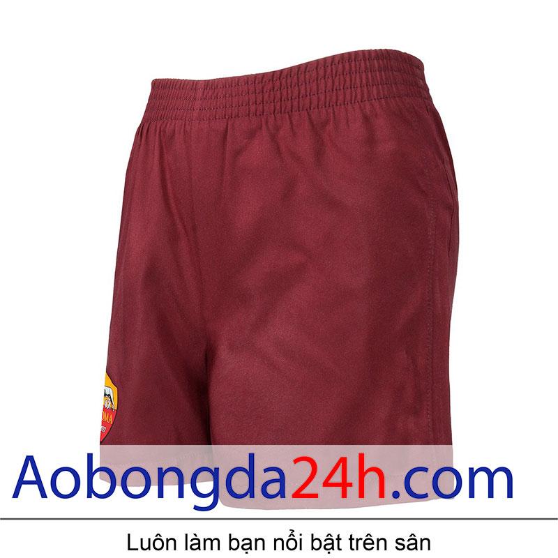 áo bóng đá As roma 2016-2017 sân nhà màu đỏ-quần