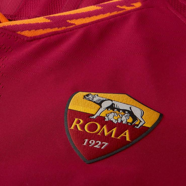 Áo As Roma 2019- 2020 sân nhà màu đỏ