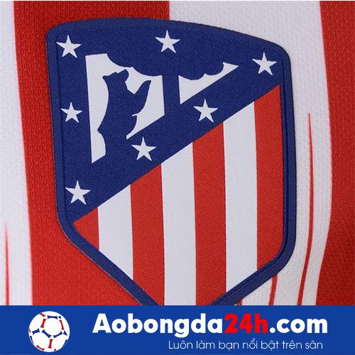Áo thi đấu Atletico Madrid 2018-2019 sân nhà đỏ trắng