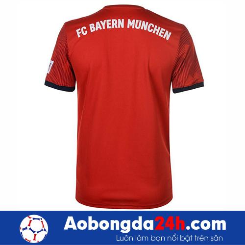 Áo Bayern Munich 2018-2019 màu đỏ sân nhà