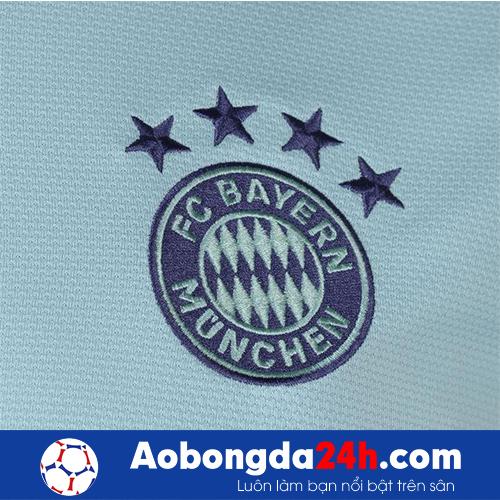 Áo đấu Bayern Munich 2018-2019 sân khách trắng