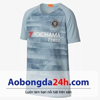 Áo Chelsea 2018/2019 mẫu thứ 3 màu xanh ngọc