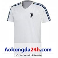 Áo Juventus Training 2017-2018 màu trắng