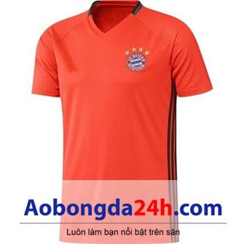 Áo bóng đá Bayern Munich áo tập màu cam