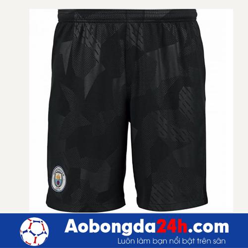 Áo bóng đá CLB Man City 2017-2018 màu xám mẫu thứ 3
