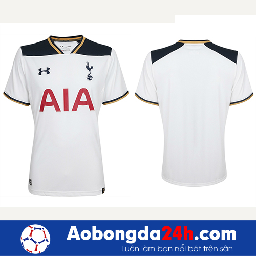 Áo bóng đá Tottenham 2016-2017 sân nhà trắng