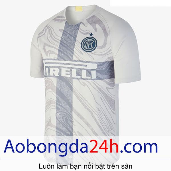 Áo bóng đá inter Milan 2018-2019 mẫu thứ 3 màu trắng