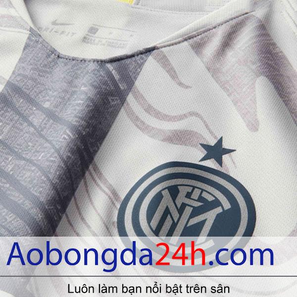 Áo bóng đá inter Milan 2018-2019 mẫu thứ 3 màu trắng-2