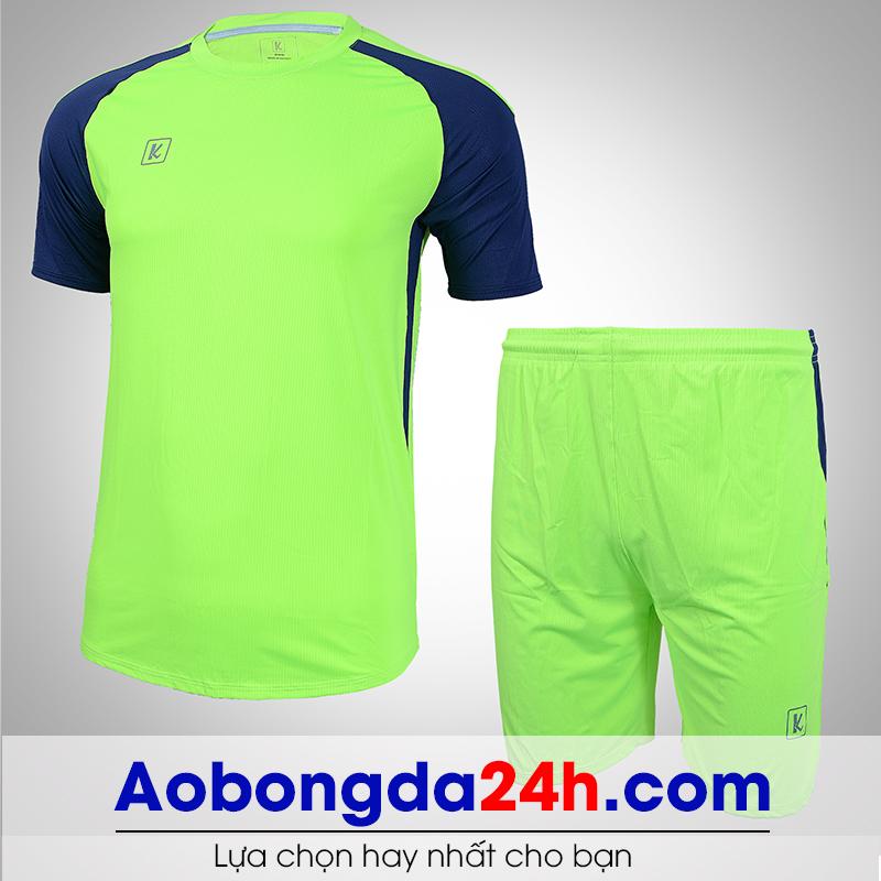 Áo bóng đá không logo Aither mẫu 06 màu chuối