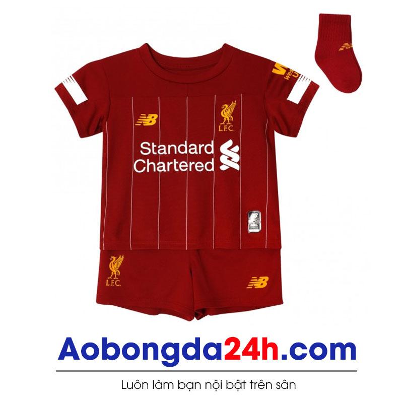 Quần áo thể thao trẻ em Liverpool 2019-2020 sân nhà