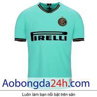 Áo Inter Milan 2019-2020 sân khách màu xanh ngọc