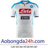 Áo Napoli mẫu 3 mùa giải 2019-2020 màu trắng