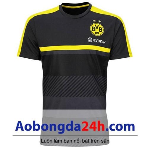 Áo câu lạc bộ Dortmund 2016- 2017 màu đen mẫu thứ 3