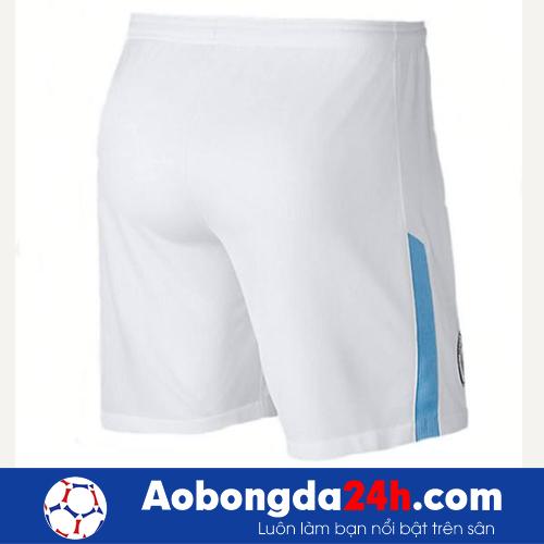 Áo câu lạc bộ Manchester City 2013-2014 màu trắng mẫu 3
