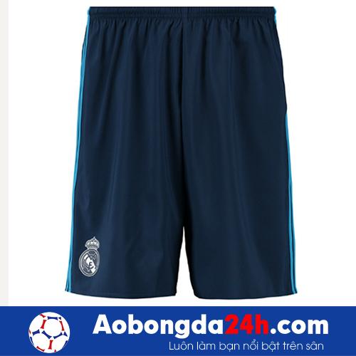 Áo câu lạc bộ Real Madrid 2015-2016 mẫu thứ 3 xanh đen