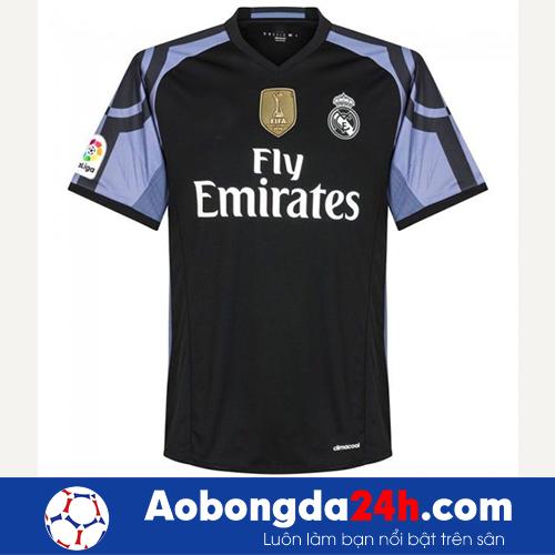 Áo câu lạc bộ Real Madrid 2016-2017 mẫu thứ 3