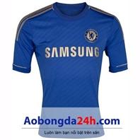 Áo Chelsea 2012-2013 sân nhà màu xanh