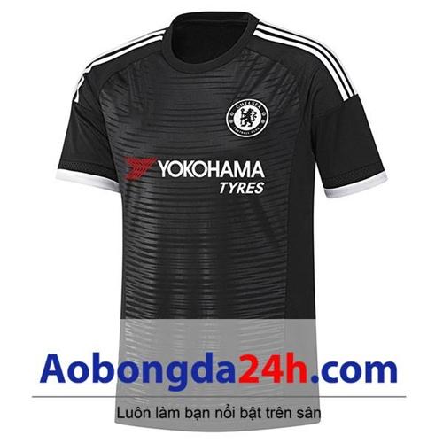 Áo Chelsea 2014-2015 sân khách màu đen